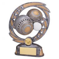 Sonic Boom Lawn Bowls Trophy Award 190mm : New 2019