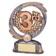 Sonic Boom Achievement Trophy Award 3rd Place 170mm : New 2019