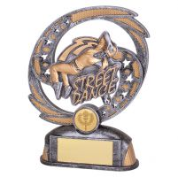 Sonic Boom Street Dance Trophy Award Female 170mm : New 2019