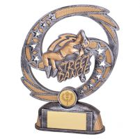 Sonic Boom Street Dance Trophy Award Female 190mm : New 2019