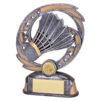 Sonic Boom Badminton Trophy Award 170mm : New 2019