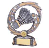 Sonic Boom Badminton Trophy Award 190mm : New 2019