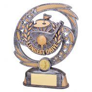 Sonic Boom Golf Longest Drive Trophy Award 190mm : New 2019