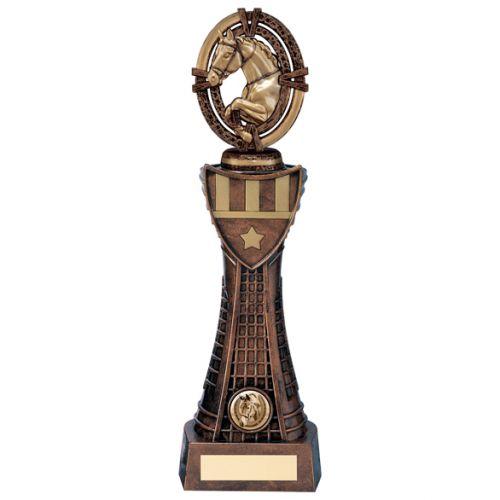 Maverick Equestrian Heavyweight Trophy Award 315mm : New 2020