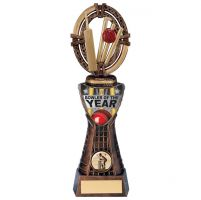 Maverick Cricket Bowler Trophy Award 250mm : New 2020
