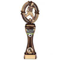 Maverick Football Player of Match Trophy Award 230mm : New 2020