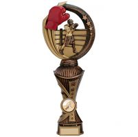 Renegade Boxing Heavyweight Award Antique Bronze and Gold 260mm