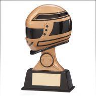 Drivers Motorsport Helmet Trophy Award 125mm