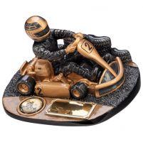 Rapid Force Karting Trophy Award 90mm
