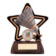 Little Star Badminton Plaque 105mm