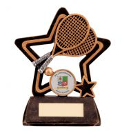 Little Star Tennis Plaque 105mm