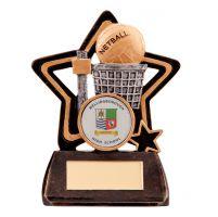 Little Star Netball Trophy Award 105mm