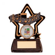 Little Star Music Plaque 105mm