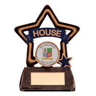Little Stars - House Colours Blue 105mm