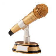 The Karaoke Microphone Trophy Award 175mm