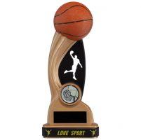Shadow Blast Basketball Trophy Award and TB 185mm