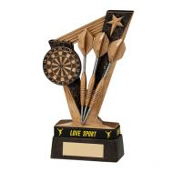 Victory Darts Trophy Award and TB 155mm