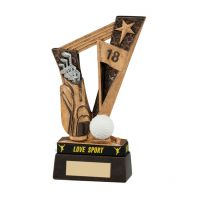 Victory Golf Trophy Award and TB 155mm
