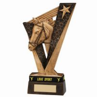 Victory Equestrian Trophy Award and TB 200mm