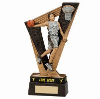 Victory Basketball Trophy Award and TB 155mm