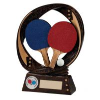 Typhoon Table Tennis Trophy Award 130mm