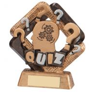 Sporting Unity Quiz Trophy Award 135mm