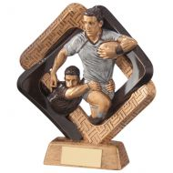 Sporting Unity Rugby Trophy Award 195mm