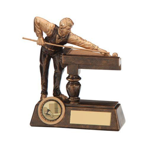 Big Break Pool / Snooker Trophy Award 130mm