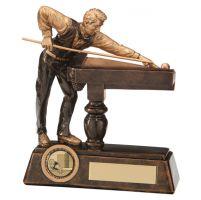 Big Break Pool / Snooker Trophy Award 160mm