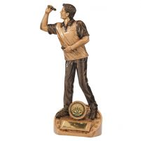Bullseye Male Darts Trophy Award 215mm