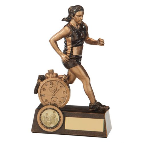Endurance Female Running Trophy Award 165mm