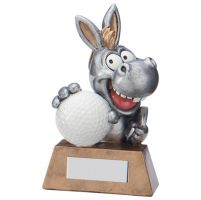 What A Donkey! Golf Trophy Award 130mm