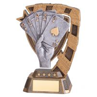 Euphoria Poker Trophy Award 130mm : New 2019