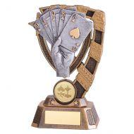 Euphoria Poker Trophy Award 150mm : New 2019