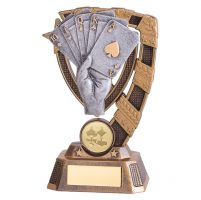 Euphoria Poker Trophy Award 150mm : New 2019