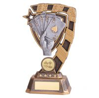 Euphoria Poker Trophy Award 180mm : New 2019