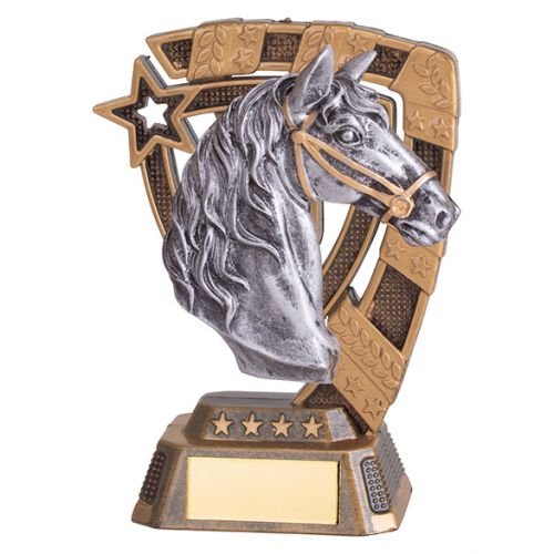 Euphoria Equestrian Trophy Award 130mm : New 2019