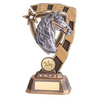 Euphoria Equestrian Trophy Award 180mm : New 2019