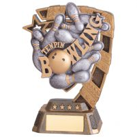 Euphoria Ten Pin Bowling Trophy Award 130mm : New 2020