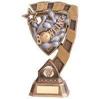 Euphoria Ten Pin Bowling Trophy Award 210mm : New 2020