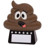 Oh Poop! Fun Award Trophy 90mm
