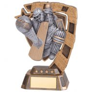 Euphoria Cricket Player Trophy Award 130mm : New 2020