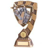 Euphoria Cricket Player Trophy Award 210mm : New 2020