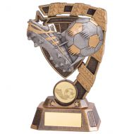 Euphoria Football Boot and Ball Trophy Award 150mm : New 2020