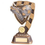 Euphoria Football Boot and Ball Trophy Award 180mm : New 2020