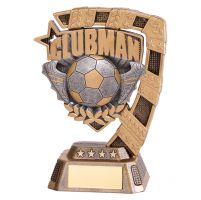 Euphoria Football Clubman Trophy Award 130mm : New 2019