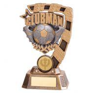 Euphoria Football Clubman Trophy Award 150mm : New 2019