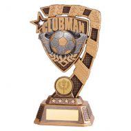 Euphoria Football Clubman Trophy Award 180mm : New 2019