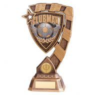 Euphoria Football Clubman Trophy Award 210mm : New 2019