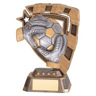 Euphoria Goalkeeper Football Trophy Award 130mm : New 2019